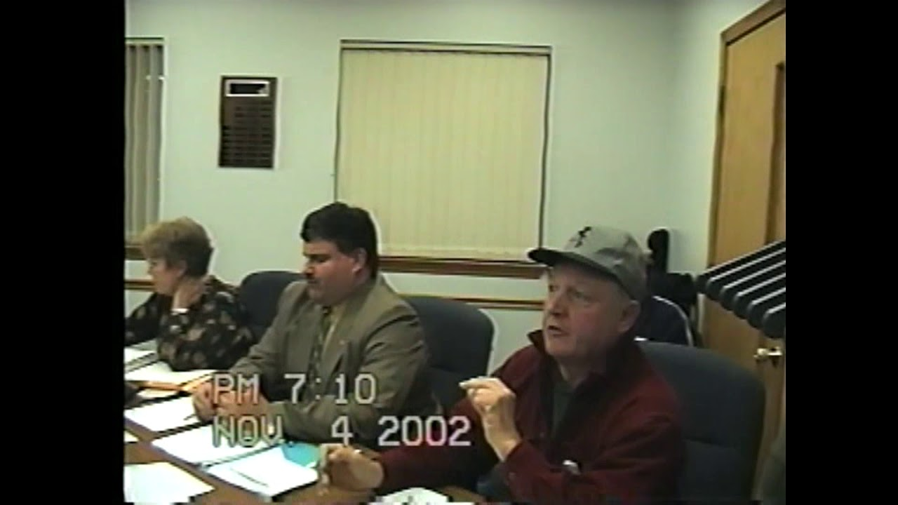 Rouses Point Village Board Meeting  11-4-02