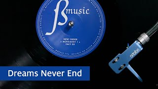New Order - Dreams Never End (Official Audio)