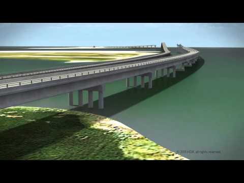 Bonner Bridge Replacement Project Visualization Fly-Through