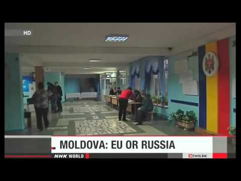 World News NHK WORLD Moldovan vote to choose pro-EU or Russia