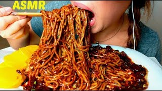 *No Talking* ASMR BEST Korean Black Bean Noodles 먹방 짜장면 jajangmyeon Jjajangmyeon (3rd edition) thumbnail