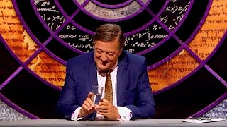 Melting teaspoons in water - QI: Series M Episode 15 Preview - BBC Two