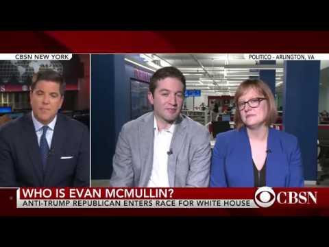 Anti Trump Republican Evan McMullin to run for president