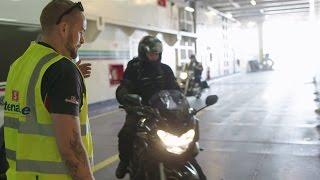 Stena Line - Mit dem Motorrad an Bord der Fähre