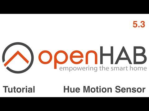 openhab tutorial 5 3 deutsch philips hue motion sensor youtube. Black Bedroom Furniture Sets. Home Design Ideas