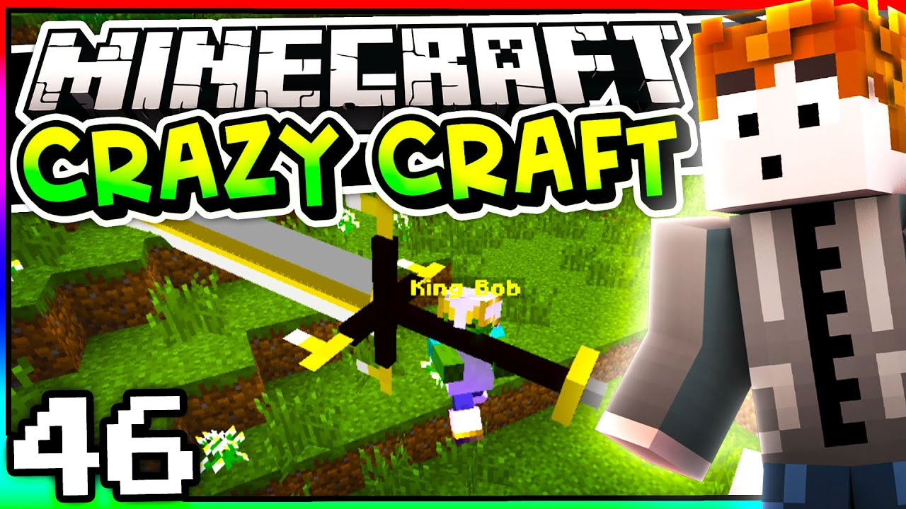 Minecraft crazy craft 3 0 episode 46 king bob youtube for Crazy craft 3 0 server