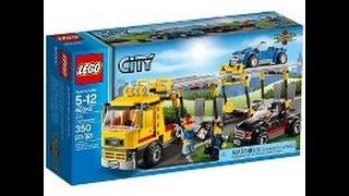 Обзор Lego City: Транспорт для перевозки автомобилей