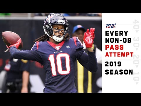 Every Non-QB Pass Attempt from the 2019 NFL Season