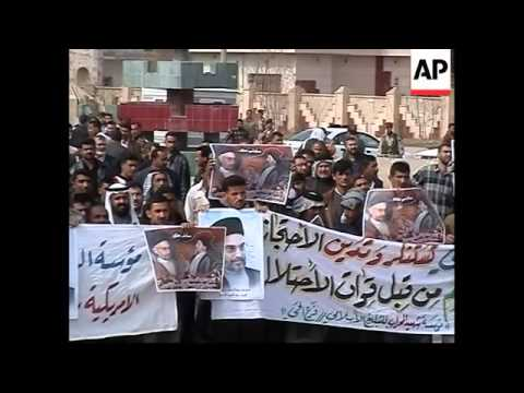 WRAP  Rallies to protest detention of Shiite leader