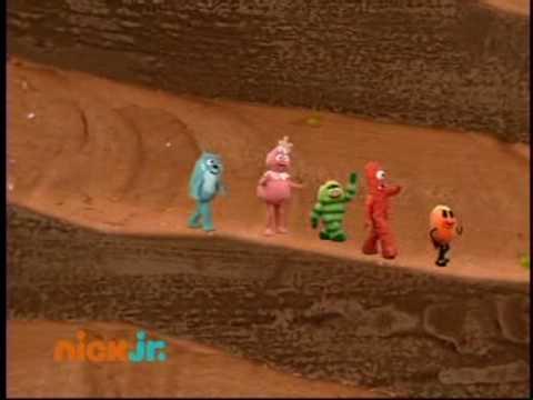 Yo Gabba Gabba - Follow the Oskie Bugs song