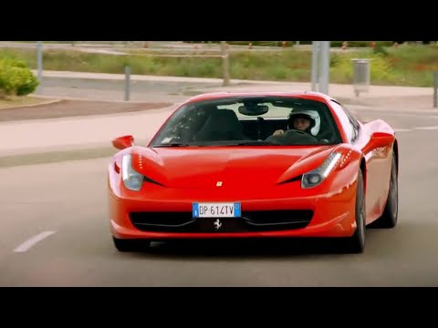 "Supercar Street Race | The ""Madrid Grand Prix"" | Top Gear | Series 20 | BBC"
