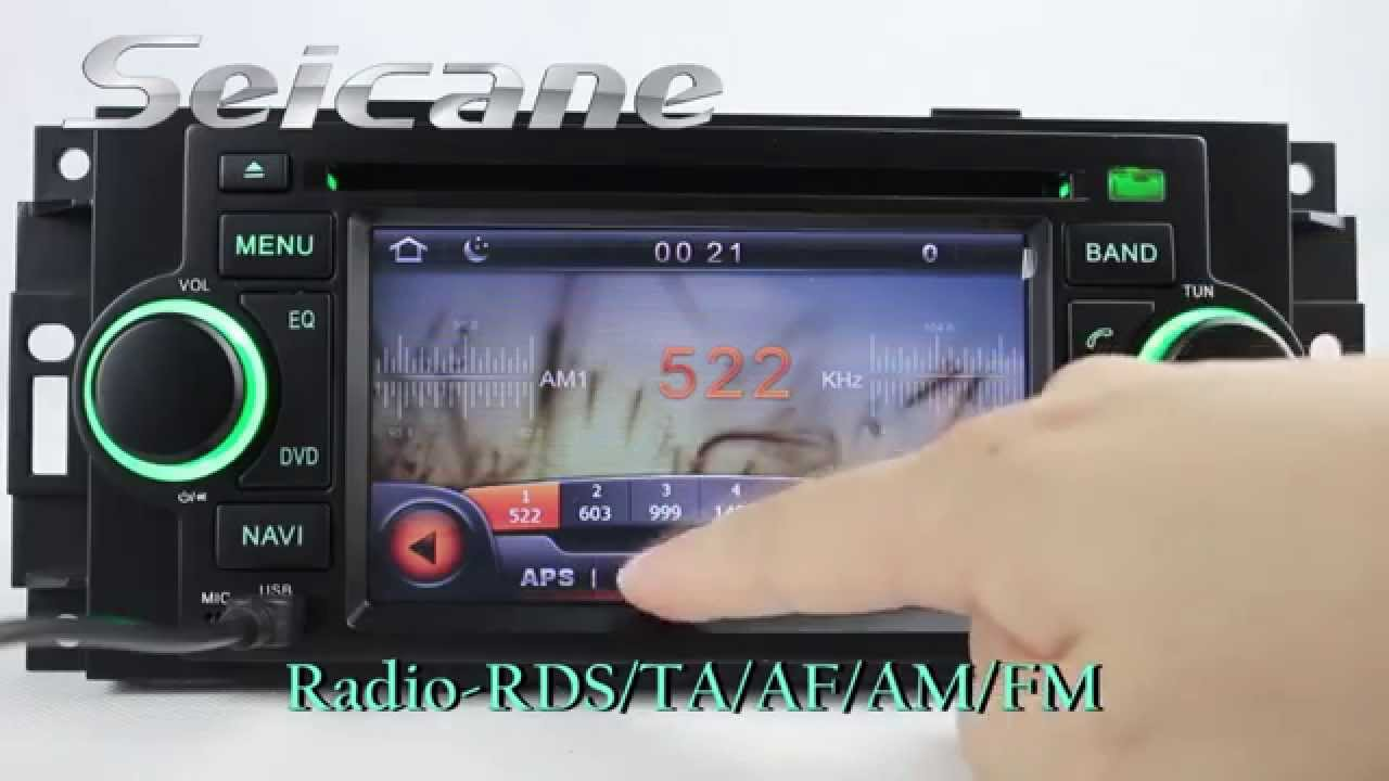 Cheap 2002 2007 jeep grand cherokee radio dvd bluetooth audio system support 3d navigation map mp3 i