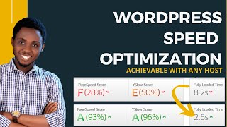 Speed Up Wordpress With Any Web Hosting - How To Optimize Website Speed & Load Super Fast