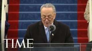 Chuck Schumer's Inauguration Day Remarks: We Are All Exceptional | Donald Trump Inauguration | TIME