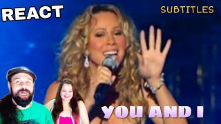 VOCAL COACHES REACTS: MARIAH CAREY - YOU AND I Video