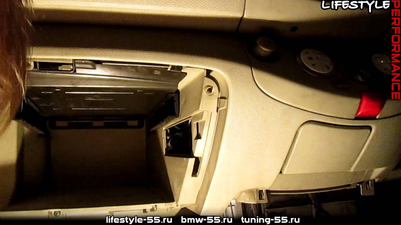 снятие бардачка форд фокус 3