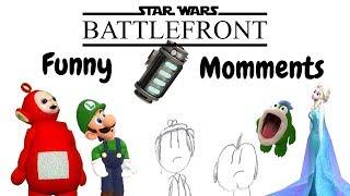 Bacta Oddity | STAR WARS™ Battlefront™ | Funny Moment Montage # 8