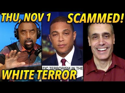 Thu, Nov 1: Don Lemon: White Terror; PR Rooney: Blacks Scammed; Calls! from YouTube · Duration:  1 hour 58 minutes 48 seconds