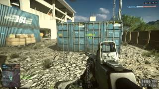 Battlefield 4 Multiplayer M224 MORTAR Rogue Transmission - Tower skyscraper top enemy killed