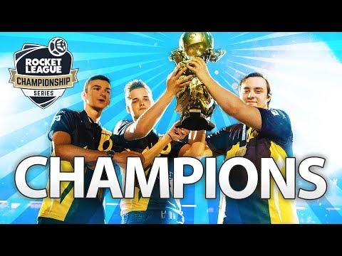 Champions | RLCS S5 World Championship Montage | Team Dignitas Rocket League thumbnail