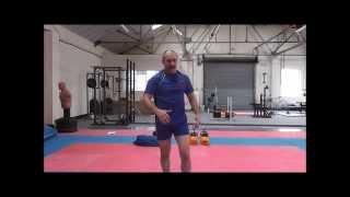 sambo conditioning training vadim kolganov strength endurance with kettlebells sand bag