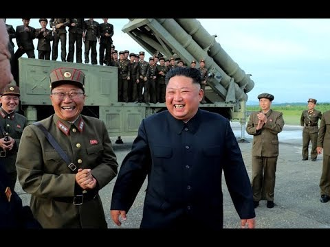 North Korea New Super-large Multiple Rocket Launcher Successful Test-fire
