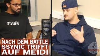 Ssynic trifft nach Battle auf Meidi | Kollegah antwortet