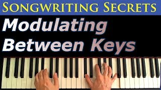 Songwriting Secrets: Modulating Between Keys Using the 2 5 1 Progression