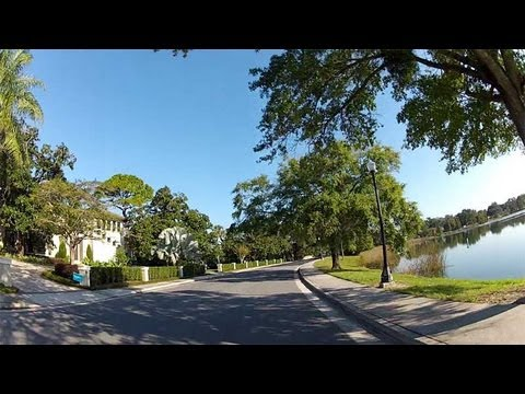Drive every College Park street in Orlando Florida (2x)