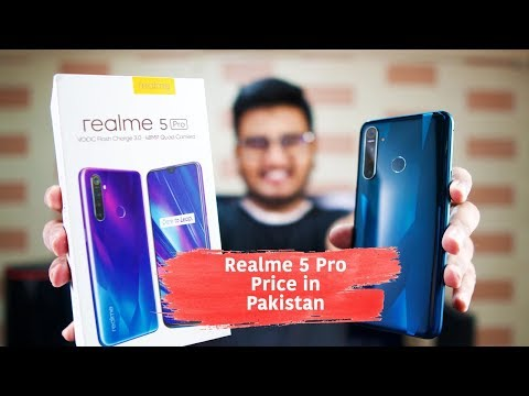 Realme 5 Pro Unboxing Price In Pakistan Is Insane Youtube