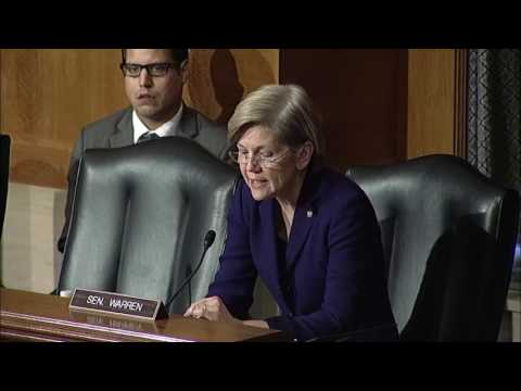 Sen  Warren Introduces Dr  David Weil to HELP Committee