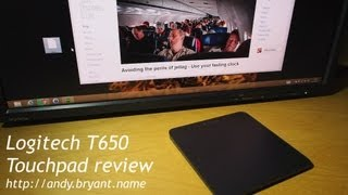 Logitech T650 on Windows 8 - demo & review