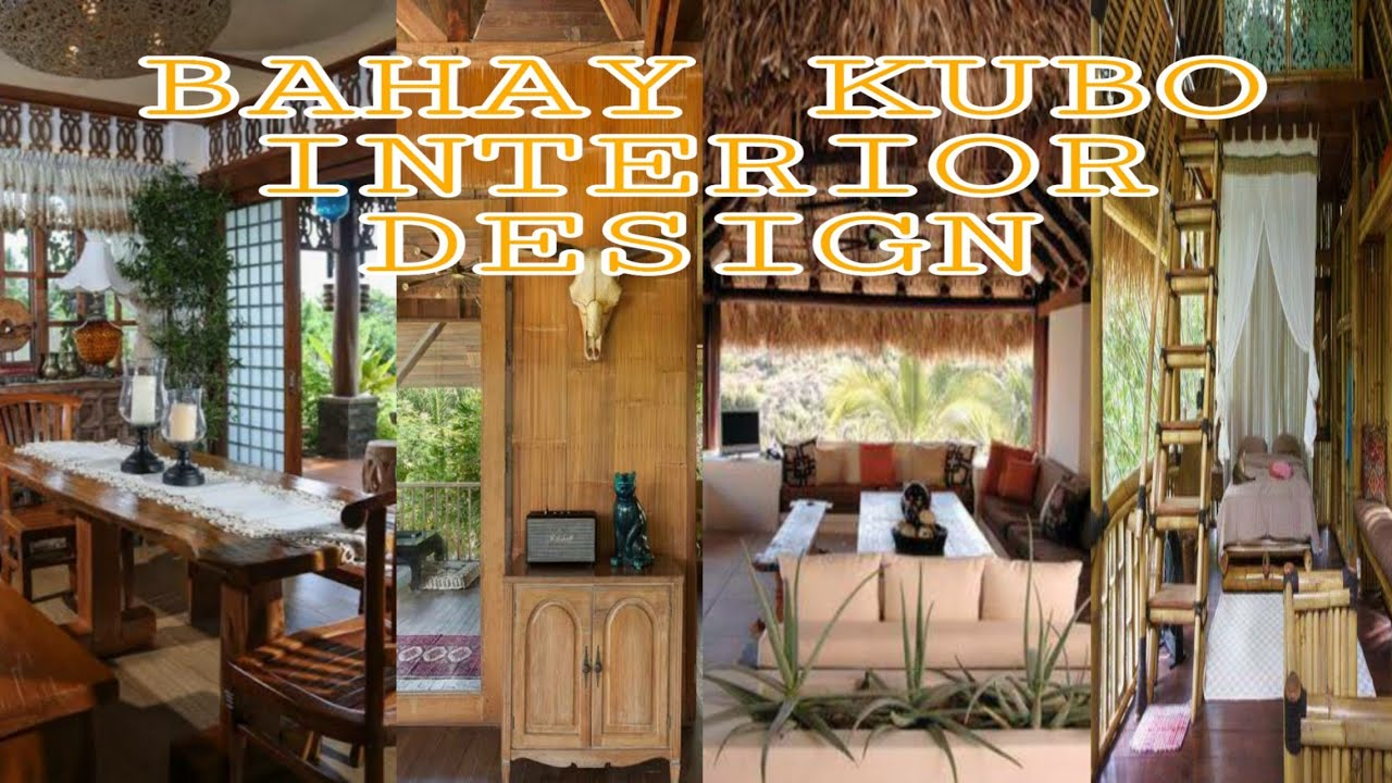 Bahay Kubo Interior Design Compilation Youtube