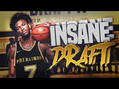 NBA 2K18 Pittsburgh Predators MyLeague Ep. 15 - INSANE NBA DRAFT!!!