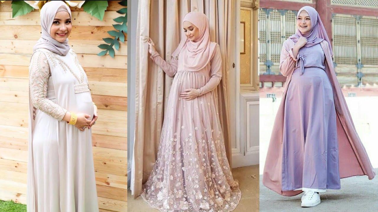 9 Trend Model Baju Hamil Muslim Terbaru!  Model Baju Hamil Muslimah  Kekinian