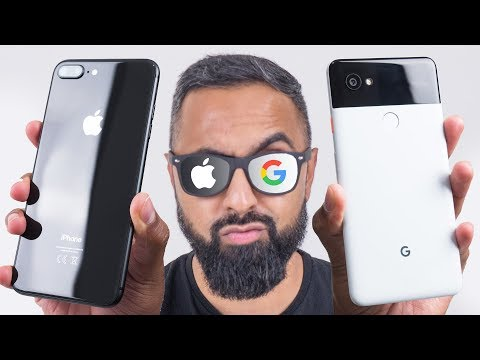 Google Pixel 2 XL vs iPhone 8 Plus