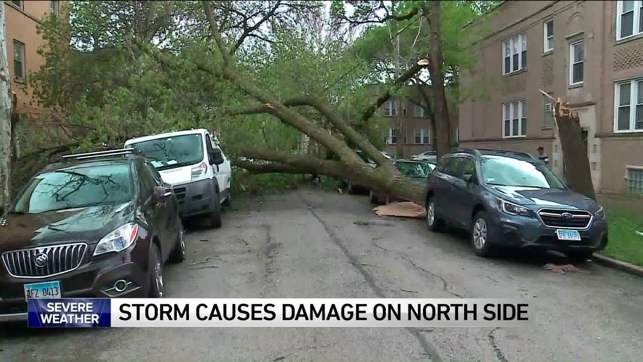Possible Rogers Park tornado as powerful Illinois storms knock out ...
