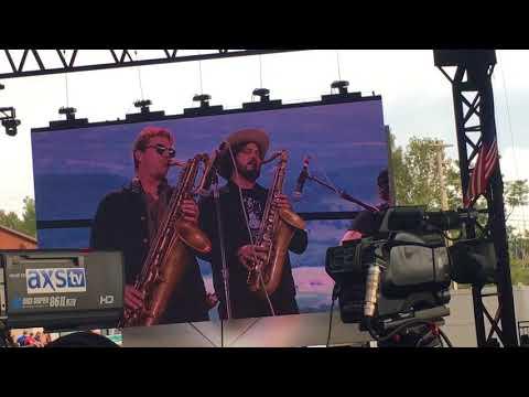 "Jack Johnson  "" I Shall Be Released "" Live @ Farm Aid 2017 9/16/17"