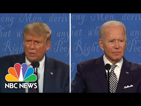 'This Was A Disgrace': Andrea Mitchell Discusses First Debate Between Trump And Biden | NBC News