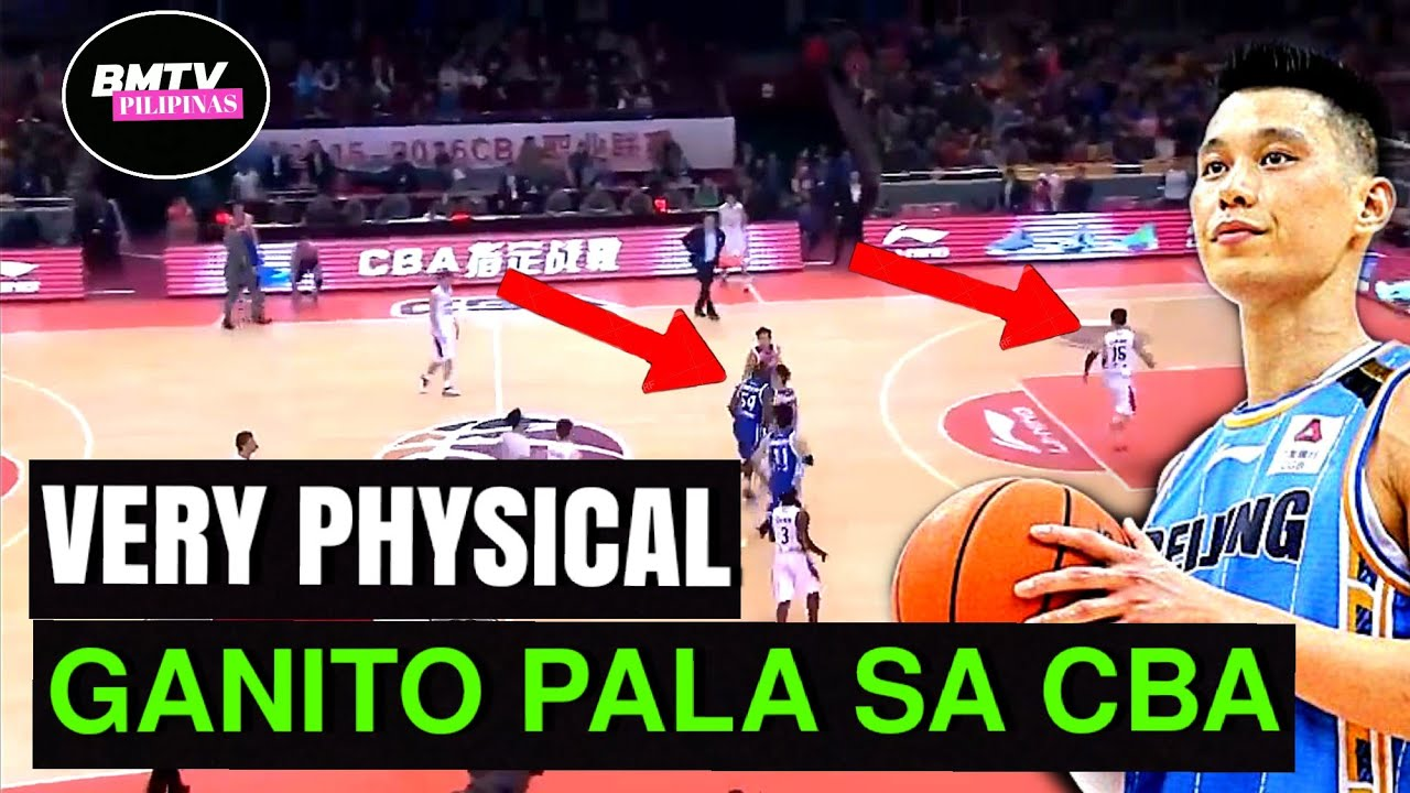 VERY PHYSICAL | GANITO PALA SA CHINESE BASKETBALL LEAGUE | CBA