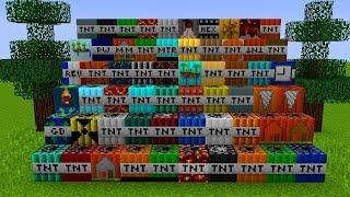 50 NOVAS TNT no MINECRAFT