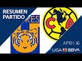 U.A.N.L. Tigres Club America Goals And Highlights