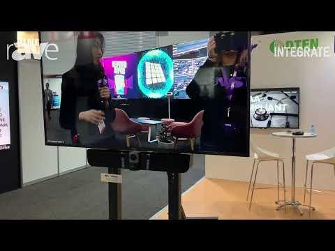 Integrate 2019: AVer Information Shows VB342+ 4K Camera Sound Bar For Huddle Rooms