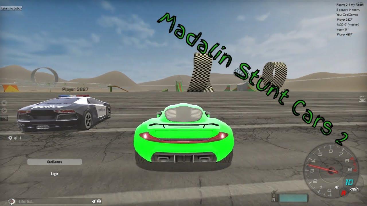 Car Games Madalin Stunt Cars 2 Part 6 Multiplayer Youtube