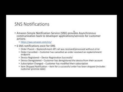 Amazon Dash Replenishment For Developers