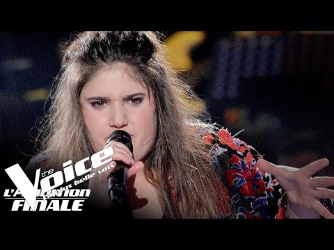 Stromae (Ave Cesaria) | Sherley Paredes | The Voice France 2018 | Auditions Finales