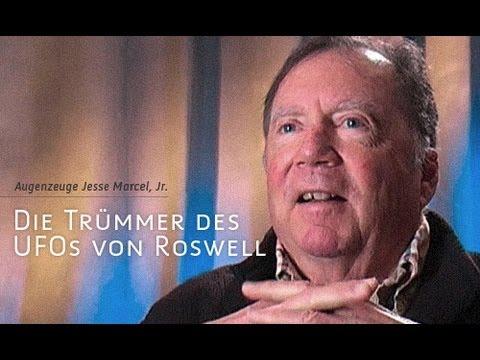 Die Trümmer des Roswell-UFOs - Dr. Jesse Marcel, Jr.