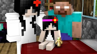 Monster School : Herobrine Family Sad Story - But Happy Ending - Minecraft Animation