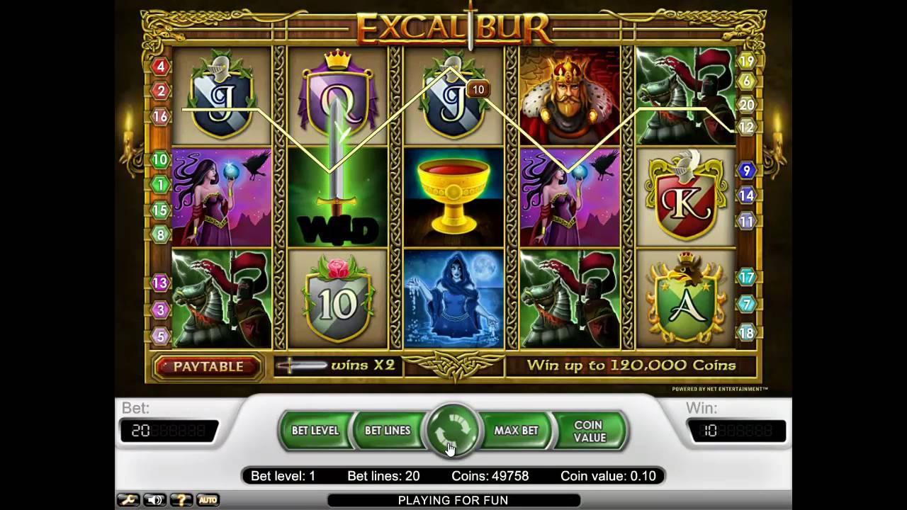 Free Slot/Excalibur