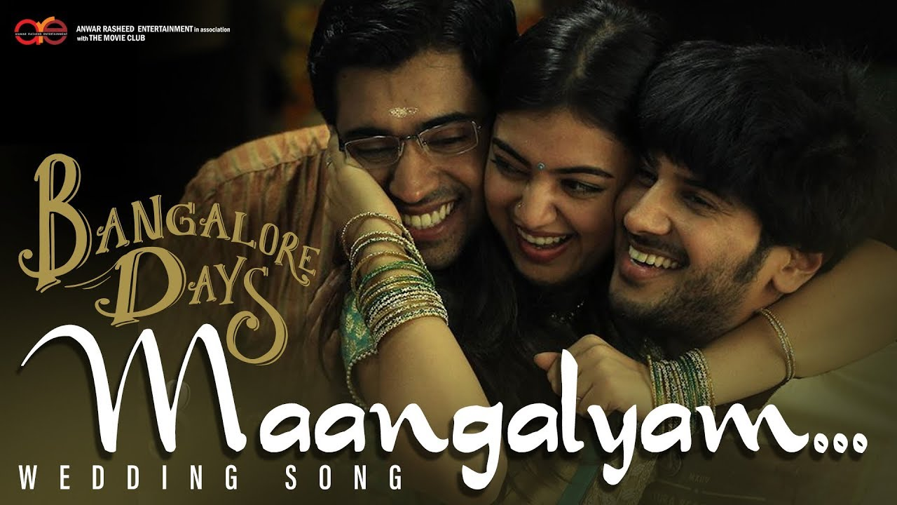 Raja Rani Movie Wallpapers With Quotes Bangalore Days Wedding Song Maangalyam Youtube